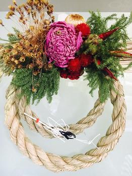 正月のしめ縄飾り