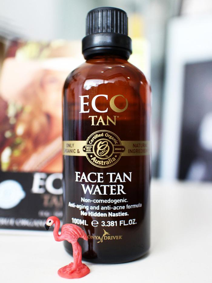 ECOTAN新商品オーガニックフェイスタンウォーター