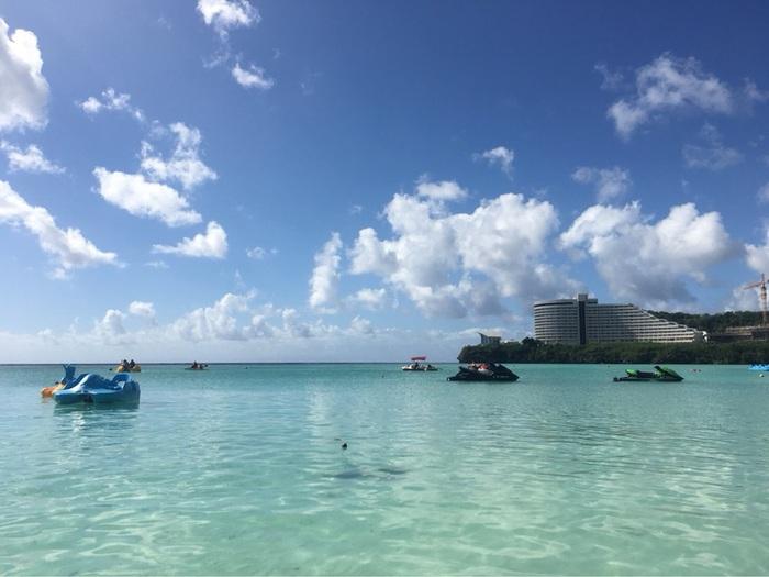 グアムの海ビーチリゾート